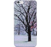 Winter Trees iPhone Case/Skin