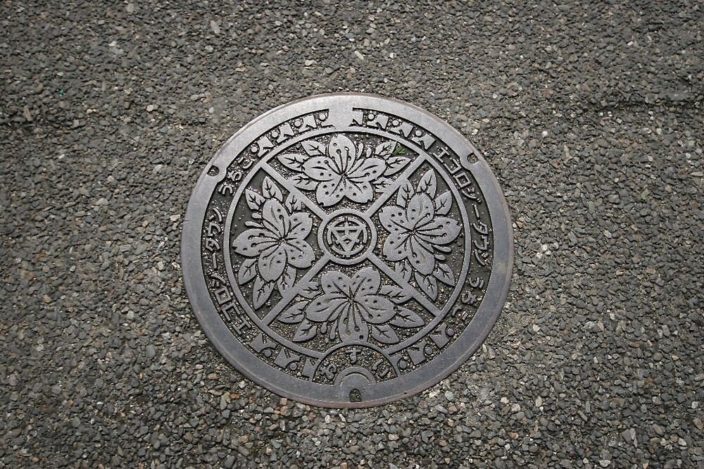 Uchiko manhole cover by Trishy