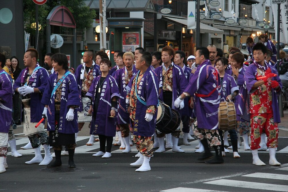 Matsuyama Local Festival by Trishy