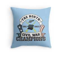 The North - Civil War Champions - Anti-Southern Pride Throw Pillow