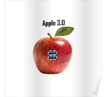 USB Apple 3.0 Poster