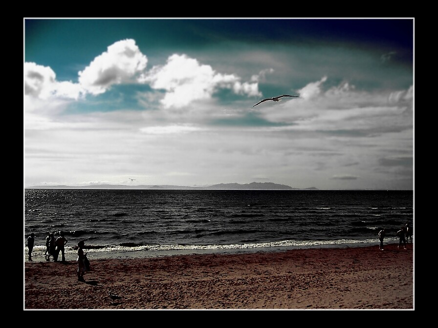 Arran in the Haze by Susan Dailey