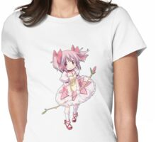 Madoka Kaname Womens Fitted T-Shirt