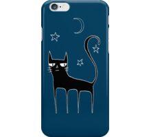 A Black Cat iPhone Case/Skin