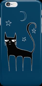 A Black Cat by Cat Bruce