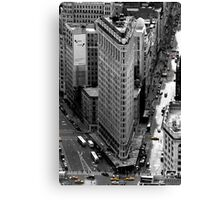 Flatiron Building - NY Canvas Print