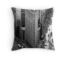 Flatiron Building - NY Throw Pillow