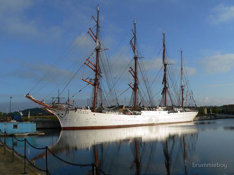 Russian Sail Training Ship by brummieboy