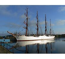 Russian Sail Training Ship Photographic Print
