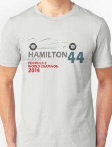 Lewis Hamilton World Champion 2014 T-Shirt