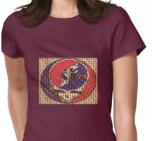 Greatfull Dead Teddy Bears Womens Fitted T-Shirt