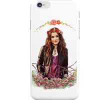 Meg Masters with Flower crown ~ iPhone Case/Skin