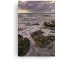 watermans bay beach Canvas Print