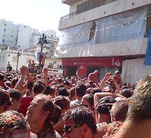 La Tomotina Festival, Buna Spain by liza21uk