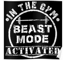 The Gym Beast Poster