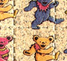Greatfull Dead Teddy Bears Detail Sticker