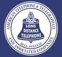 Vintage American Telephone and Telegraph - Bell System by AmazingRobyn