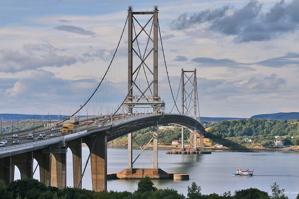 Forth Road Bridge 2 by Chris Clark