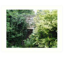 Walled Garden Art Print