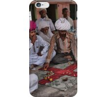 Playing Chausar Game iPhone Case/Skin
