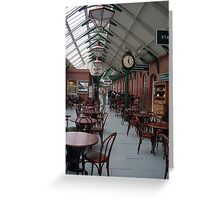 Cobh station Greeting Card