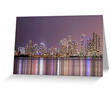 A Thousand Lights In The City Greeting Card