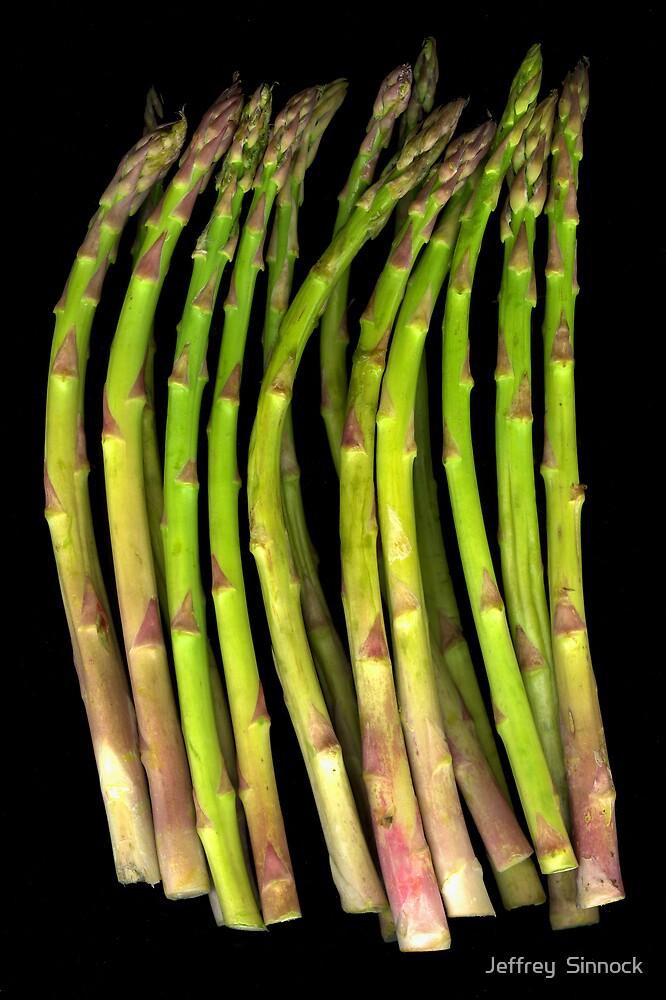 asparagus by Jeffrey  Sinnock