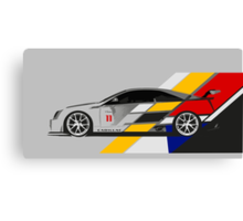 Cadillac CTS V Coupe Race Car Canvas Print