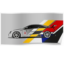 Cadillac CTS V Coupe Race Car Poster