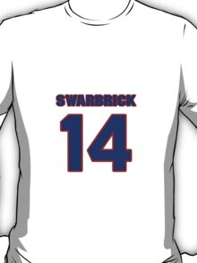 National Hockey player George Swarbrick jersey 14 T-Shirt
