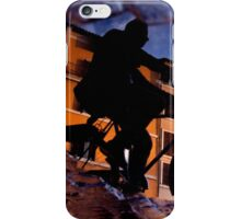 The reflections of a Cyclist [square] iPhone Case/Skin