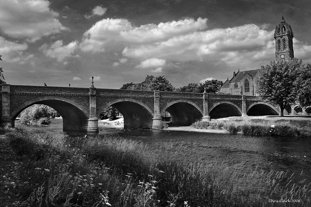 Peebles Bridge by Chris Clark