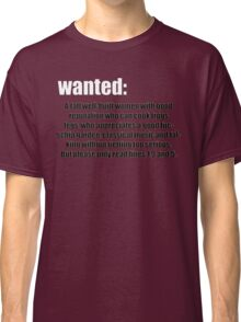 WANTED: Classic T-Shirt