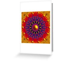 ENERGIZING MANDALA! Greeting Card