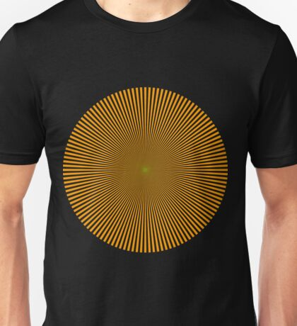Glitch Land Tower Quest headroom optic 1 Unisex T-Shirt