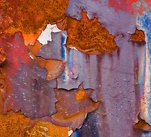 Junkyard Abstract by David Librach - DL Photography -