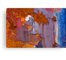 Junkyard Abstract Canvas Print