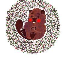 Baby Beaver by haidishabrina