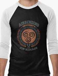 Airbending university Men's Baseball ¾ T-Shirt