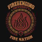 Firebending university by Typhoonic