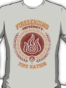 Firebending university T-Shirt