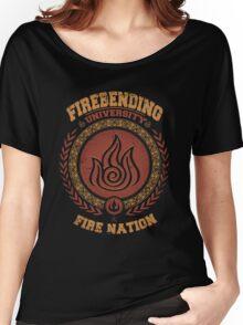 Firebending university Women's Relaxed Fit T-Shirt