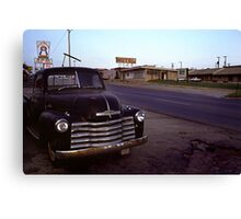 Motel Mid America Canvas Print