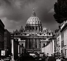St Peters Cathedral, Rome by laurencedodd