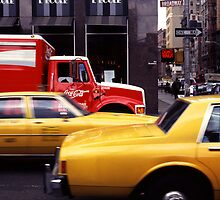New York Taxis by laurencedodd