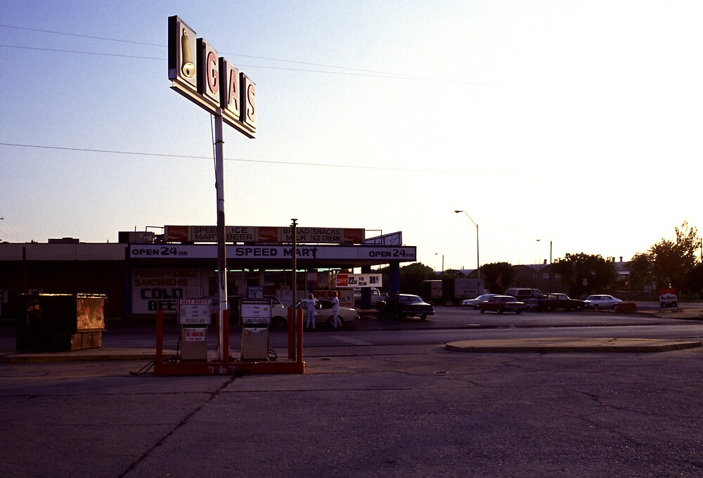 Mid america gas station by laurencedodd