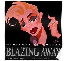 BLAZING AWAY Poster