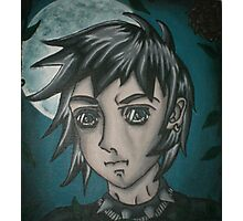 original acrylic anime painting Photographic Print