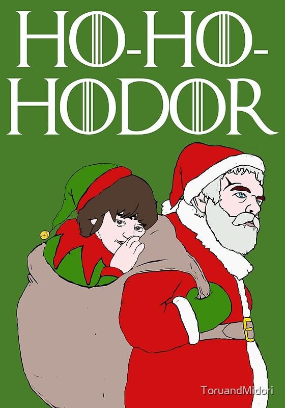 Ho ho hodor toruandmidori for Game of thrones christmas gifts 2016