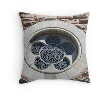 Window of Faith Throw Pillow